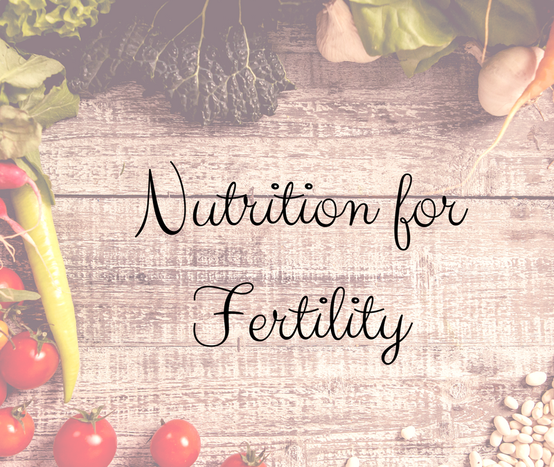 Nutrition and Your Fertility