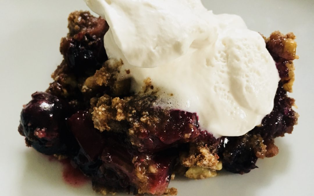 Fertility Fruit Cobbler!